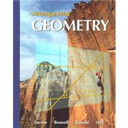 Geometry, Grades 9-12: Mcdougal Littell High School Math by Houghton Mifflin Company, 9780618595402