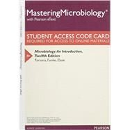 MasteringMicrobiology with Pearson eText -- Standalone Access Card -- for Microbiology An Introduction by Tortora, Gerard J.; Funke, Berdell R.; Case, Christine L., 9780133995411