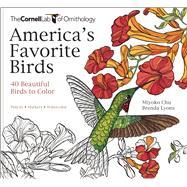 America's Favorite Birds 40 Beautiful Birds to Color by Greig, Emma Ileana; Lyons, Brenda, 9781943645411