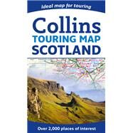 Collins Touring Map Scotland by Collins Uk, 9780007545414