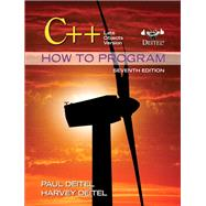 C++ How to Program Late Objects Version by Deitel, Paul J.; Deitel, Harvey, 9780132165419