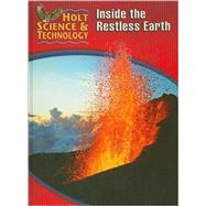 Inside The Restless Earth by Not Available (NA), 9780030255427
