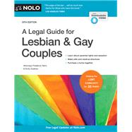 A Legal Guide for Lesbian & Gay Couples by Hertz, Frederick; Doskow, Emily, 9781413325430