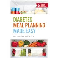 Diabetes Meal Planning Made Easy by Warshaw, Hope S., 9781580405430