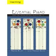 Cengage Advantage Books: Piano for the Developing Musician, Concise by Hilley, Martha; Olson, Lynn, 9781439085431