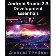Android Studio 2.3 Development Essentials by Smyth, Neil, 9781544275437