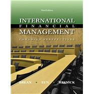 International Financial Management, 3rd Edition by Brean, Don;   Eun, Cheol;   Resnick, Bruce, 9781259075438