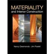 Materiality and Interior Construction by Postell, Jim; Gesimondo, Nancy, 9780470445440