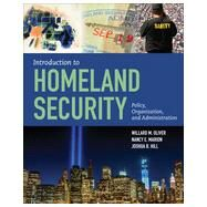 Introduction to Homeland Security by Oliver, Willard, 9781449645441