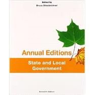 Annual Editions: State and Local Government, 16/e by Stinebrickner, Bruce, 9781259175442