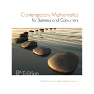 Contemporary Mathematics for Business & Consumers by Brechner, Robert; Bergeman, Geroge, 9781305585447