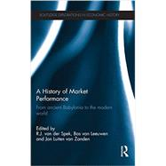 A History of Market Performance: From Ancient Babylonia to the Modern World by Van der Spek; R.J., 9780415635448