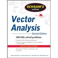 Schaum's Outline of Vector Analysis, 2ed by Spiegel, Murray; Lipschutz, Seymour, 9780071615457