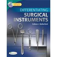 Differentiating Surgical Instruments (Book with CD-ROM) by Rutherford, Colleen J., 9780803625457