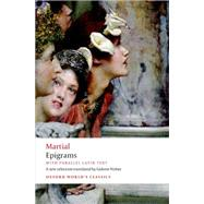 Epigrams With parallel Latin text by Martial; Nisbet, Gideon, 9780199645459