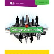 College Accounting, Chapters 1-9 by Heintz, James A.; Parry, Robert W., 9781285055459