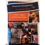 Financial Management, Principles & Practice (Black&White Paperback) by Gallagher, 9780996095464