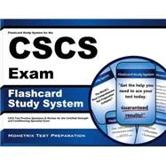 Flashcard Study System for the CSCS Exam : CSCS Test Practice Questions and Review for the Certified Strength and Conditioning Specialist Exam by Cscs Exam Secrets, 9781609715465