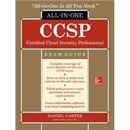 CCSP Certified Cloud Security Professional All-in-One Exam Guide by Carter, Daniel, 9781259835469