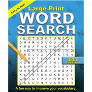 Large Print Word Search by Editors of Portable Press, 9781684125470