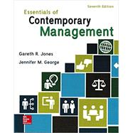 Essentials of Contemporary Management by Jones, Steven, 9781259545474