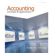 Accounting by ALBRECHT/STICE/STICE/SWAIN, 9780538745482