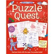 Brain Candy Puzzle Quest by Tide Mill Media, 9781784455484