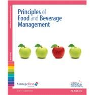 ManageFirst Principles of Food and Beverage Management with Answer Sheet by National Restaurant Association, 9780132725491