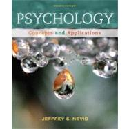 Psychology Concepts and Applications by Nevid, Jeffrey S., 9781111835491