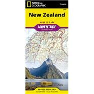 National Geographic Adventure Map New Zealand by National Geographic Maps; National Geographic Society (U. S.), 9781566955492