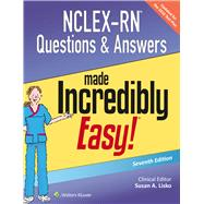 NCLEX-RN Questions & Answers Made Incredibly Easy by Lisko, Susan A., 9781496325495