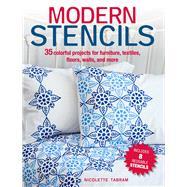 Modern Stencils by Tabram, Nicolette, 9781782495499