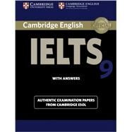 Cambridge IELTS 9 with Answers by Cambridge ESOL, 9781107615502