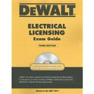 DEWALT Electrical Licensing Exam Guide, Based on the NEC 2011 by Holder, Ray, 9781111545505