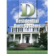 Manual D Residential Duct Systems by Rutkowski, Hank, 9781892765505