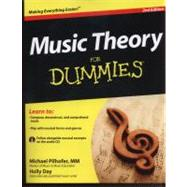 Music Theory For Dummies, with Audio CD by Pilhofer, Michael; Day, Holly, 9781118095508