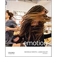 Emotion by Shiota, Michelle N.; Kalat, James W., 9780190635510