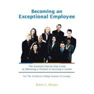 Becoming an Exceptional Employee by Mayers, Brent S., 9780536785510