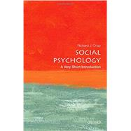 Social Psychology: A Very Short Introduction by Crisp, Richard J., 9780198715511