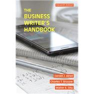 The Business Writer's Handbook by Alred, Gerald J.; Oliu, Walter E.; Brusaw, Charles T., 9781457675515