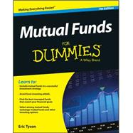 Mutual Funds for Dummies by Tyson, Eric, 9781119215516
