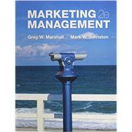 GEN CMB Marketing Management; Connect by Marshall, Greg; Johnston, Mark, 9781259665523