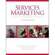 Services Marketing : People, Technology, Strategy by Lovelock, Christopher H; Wirtz, Jochen, 9780131875524