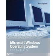 Microsoft Windows Operating System Essentials by Carpenter, Tom, 9781118195529