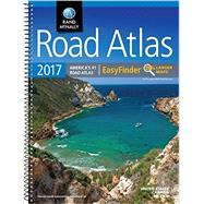Rand McMally 2017 Road Atlas Easy Finder US Canada Mex by Rand Mcnally, 9780528015533