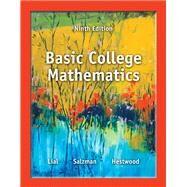 Basic College Mathematics by Lial, Margaret L.; Salzman, Stanley A.; Hestwood, Diana L., 9780321825537