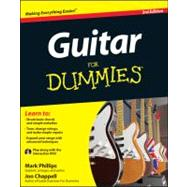 Guitar For Dummies, with DVD by Phillips, Mark; Chappell, Jon, 9781118115541