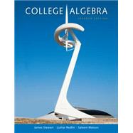 College Algebra by Stewart, James; Redlin, Lothar; Watson, Saleem, 9781305115545