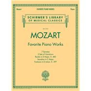 Favorite Piano Works by Mozart, Wolfgang Amadeus (COP), 9781476875545
