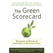 Green Scorecard by Philips, Patricia Pulliam; Philips, Jack J., 9781857885545